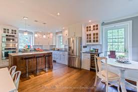 interior white country galley kitchen in admirable farmhouse