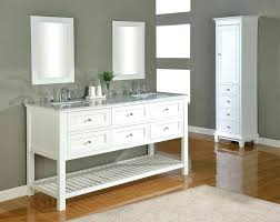open vanities for bathroomgray wall color idea feat contemporary