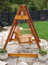How To Build A Stump by Build Diy How To Build A Frame Porch Swing Stand Plans Wooden