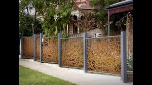 home fence design ideas youtube