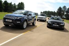 dark blue range rover range rover evoque first drives auto express