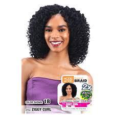 model model crochet hair model glance crochet braid 2x ziggy wand curl