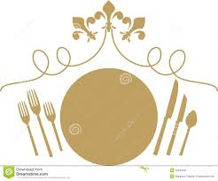 dinner menu clipart