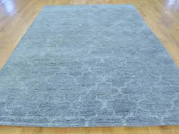 6 u0027x9 u0027 thick and plush moroccan berber hand knotted pure wool rug