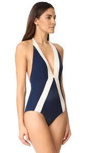 Flag One Piece Swimsuit Flagpole Jade One Piece Shopbop