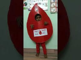 blood drop u0027 medha u0027s 1st fancy dress competition youtube