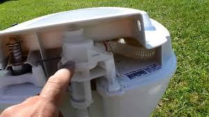rv leaky toilet repair youtube