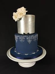 royal blue and silver wedding royal blue silver wedding cake yelp