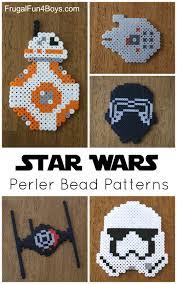 star wars the force awakens perler bead patterns millennium