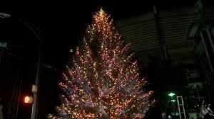 carolina panthers third annual tree lighting story wjzy