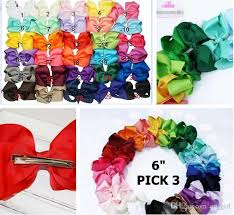 cheap hair bows 2016 new 6 big baby hair bows with hairbow baby hair
