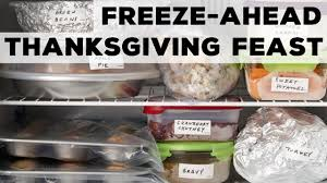 freeze ahead thanksgiving feast food network