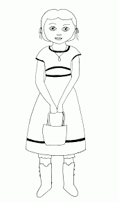 american doll coloring pages girls womanmate