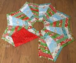 Quilted Christmas Tree Skirts To Make - how to make a christmas tree skirt you u0027ll love the seasoned
