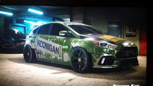 hoonigan cars hoonigan ford focus rs