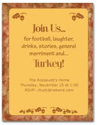 printable thanksgiving dinner invitation template