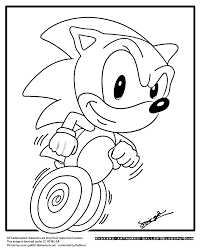 sonic the hedgehog coloring pages coloring page
