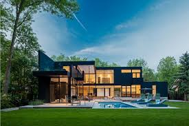 Modern Home Design Glass by Ultra Sleek Private Home With Incredible Architecture