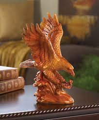 wholesale faux wooden eagle statue buy wholesale figures and statues