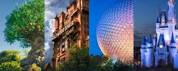 themes in magic kingdom four amazing theme parks at walt disney world resort walt disney