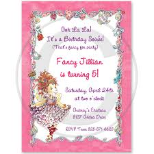 fancy invitations the fancy nancy birthday party criolla brithday wedding