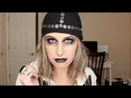 pirate gypsy halloween makeup youtube