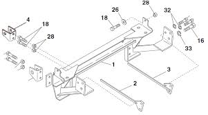 new 97 04 ford f 150 f 250ld western unimount 62225 1225 plow mount