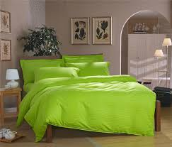 Single Bed Sets 100 Cotton Apple Green Bright Color Bedding Set Single Bed