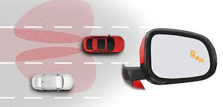 No Blind Spot Rear View Mirror Reviews In Car Technology Jaguar Xe Safe Entertained U0026 Connected
