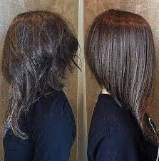 haircuts for shorter in back longer in front long hairstyles best of long in front and short in back