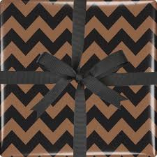copper wrapping paper chevron wrapping paper