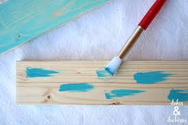 How To Color Wash Wood - how to create a color washed effect on wood dukes and duchesses