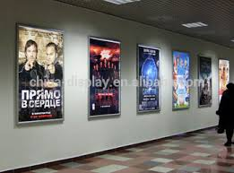 lighted movie poster frame cinema led lighted movie poster frame light box display buy cinema