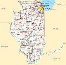 of illinois map illinois map map of illinois