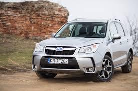 subaru outlander 2015 subaru forester 2 0xt platinum test project automotive