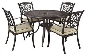 patio table with 4 chairs burnella patio table 4 chairs