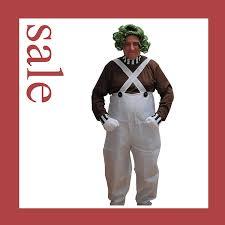 Oompa Loompa Costume Oompa Loompa Fancy Dress Costume Wig U0026 Makeup Large Amazon Co