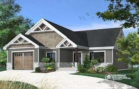 bungalow house plans with basement house plans affordable bungalow house plan with master suite