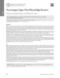 Neurosurgery Queens Square Neurosurgery Apps Novel Knowledge Boosters Pdf Download Available