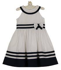 sarah louise navy and white sailor dress navy and white nautical