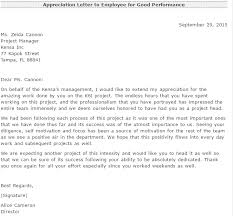 appreciation letter to employee family 28 images employee