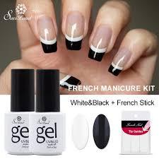 aliexpress com buy saviland 2pcs french manicure set nail art
