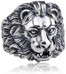 silver lion ring holder images Sss lion metal ring price in india buy sss lion metal ring jpeg