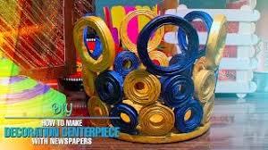 Spongebob Centerpiece Decorations by 3 Minute Crafts Viyoutube Com