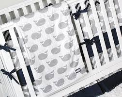 Navy Blue And White Crib Bedding Set Baby Boy Crib Bedding Set Mint Navy Blue Gray