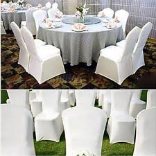 white spandex chair covers spandex chair covers home garden ebay