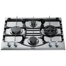 ariston piani cottura hotpoint piano cottura ehp640tx ha a gas in acciaio inox 4