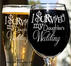 i survived my s wedding i survived my s wedding glasses engraved by scissormill