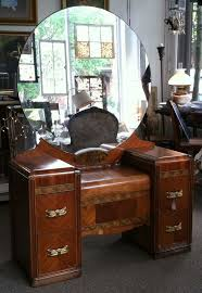 Antique Vanity Sets For Bedrooms Beautiful Antique Art Deco Waterfall Furniture Bedroom Set Full