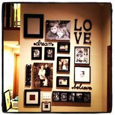 home interior frames decoration frame display ideas family photo wall decor and lovable